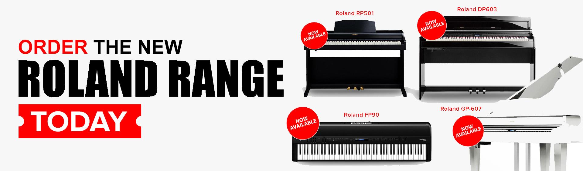 New Roland Range
